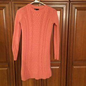 Gap cable knit sweater dress girls xl